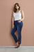 Blue denim/Lengte 82 cm