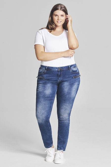 Jeans Zizzi Sanna normale taille