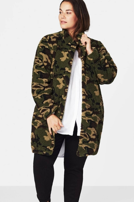 Jas Zizzi MUFFY army teddy