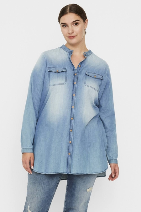 Blouse Junarose ANNIKA denim
