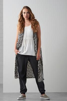 Broek Maxima fashion combi stof