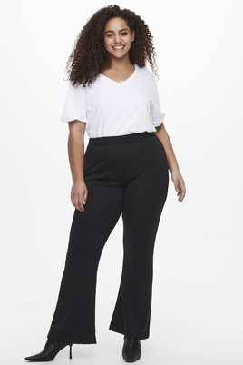 Broek PEVER ONLY C flared tricot