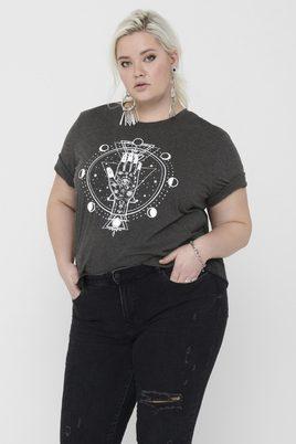 Shirt LUNI ONLY Carmakoma opdruk
