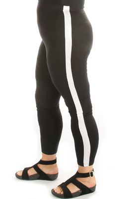 Legging SPORTY brede zijbies