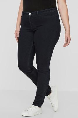 Jeans broek QUEEN slimfit dark denim