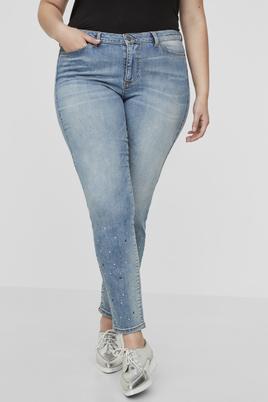 Jeans FIVE Junarose glitter kralen