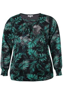 Tuniek blouse Zhenzi combi print