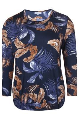 Shirt Zhenzi print elastiek zoom