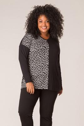 Shirt Ivy Bella dierenprint 76cm