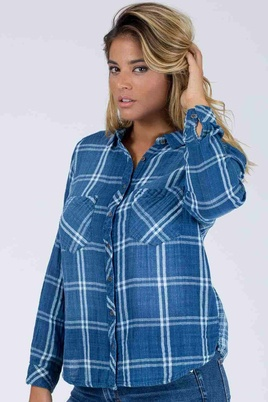 Blouse ruit October
