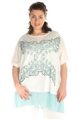 Shirt Mat fashion opengewerkt
