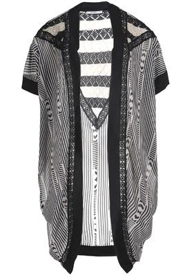 Vest Mat Fashion print brei combi