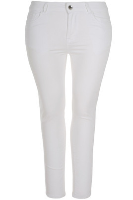 Jeans Mat Fashion witte denim