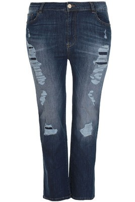 Jeans Mat Fashion destroyed