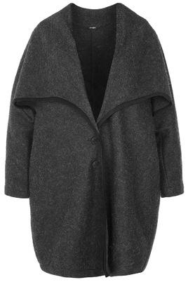 Vest Mat fashion grote kraag