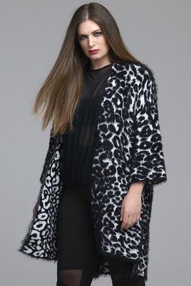 Vest Mat fashion inbrei motief
