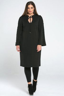 Jurk Mat fashion kant details