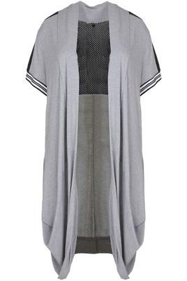 Vest Mat fashion open pas rug/mouw