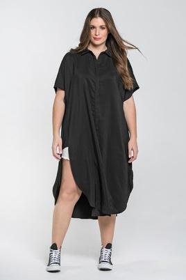 Blouse Mat fashion brede zijbies
