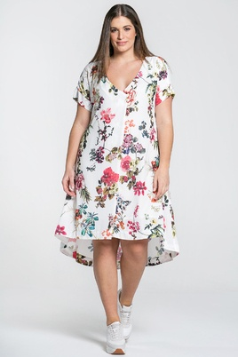 Jurk Mat fashion bloemprint