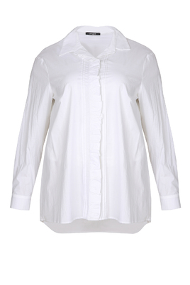 Blouse Mat fashion ruche pas