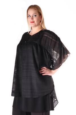 Blouse Mat fashion voile tekstbies