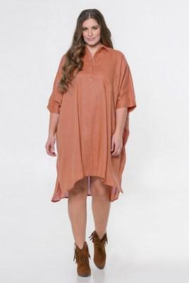 Blouse Mat fashion wijd linnen
