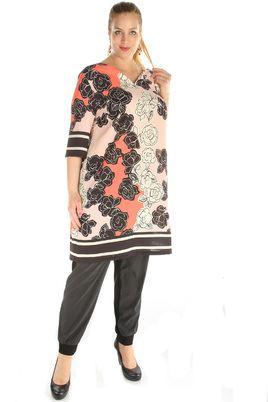 Jurk Maxima fashion bloem print