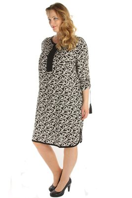 Jurk Maxima fashion print