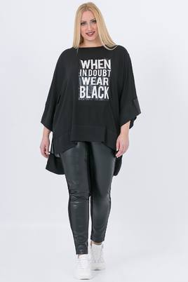 Tuniek Mat fashion tekst voor