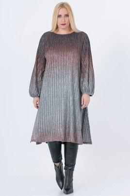 Tuniek Mat fashion overloop kleuren