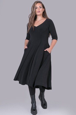 Mat jurk klokkend model