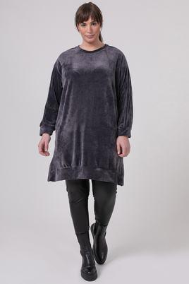 Mat fashion tuniek velvet