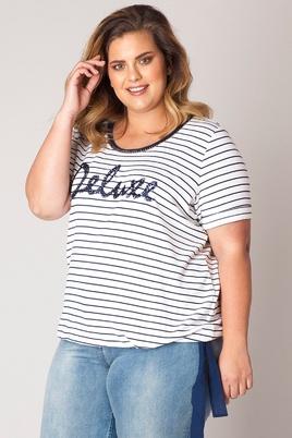 Shirt streep Gertrude Yesta
