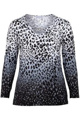 Shirt Chalou overloop print