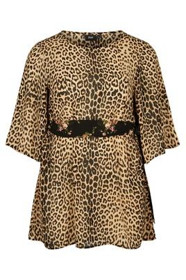 Tuniek Zizzi ELEONEA leopard