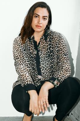 Blouse Zizzi ELEONEA leopard