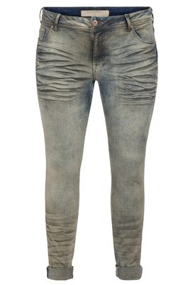 Jeans SANNA Zizzi grey coating