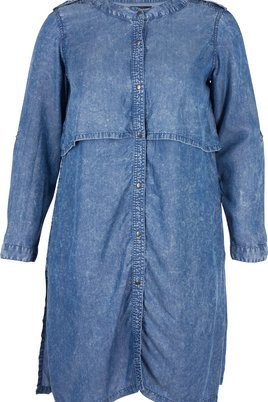 Jas Zizzi blouse look denim