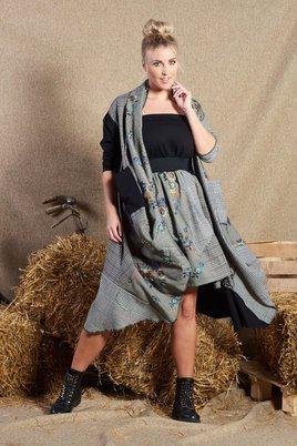 Vest jas Sophia Curvy patchwork
