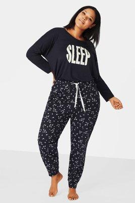 Broek Zizzi FOXY pyjama