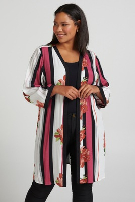 Blouse Zizzi MARIKKA kimono look