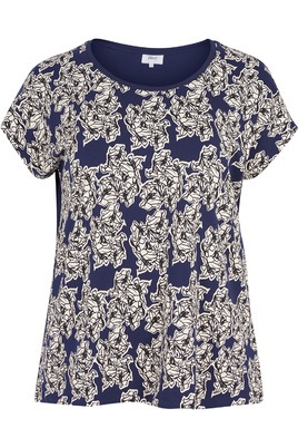 Shirt Zizzi bloem print voorkant