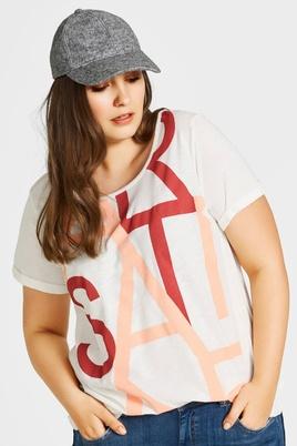 Shirt Roxy Zizzi tekst voor