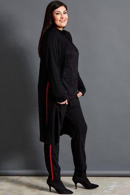 Vest Studio lang rode zijbies