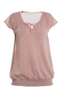 Shirt Studio smock elastiek onder