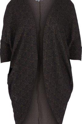 Vest Zizzi damast tricot
