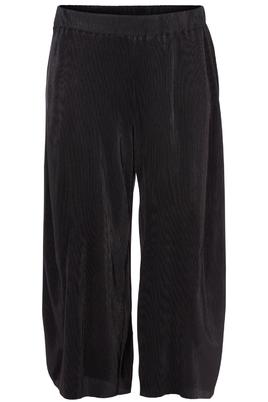 Broek Zizzi wijd plissee tricot